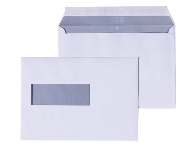 Envelop Hermes EA5 156x220mm venster 4x11rechts zelfkl 500st