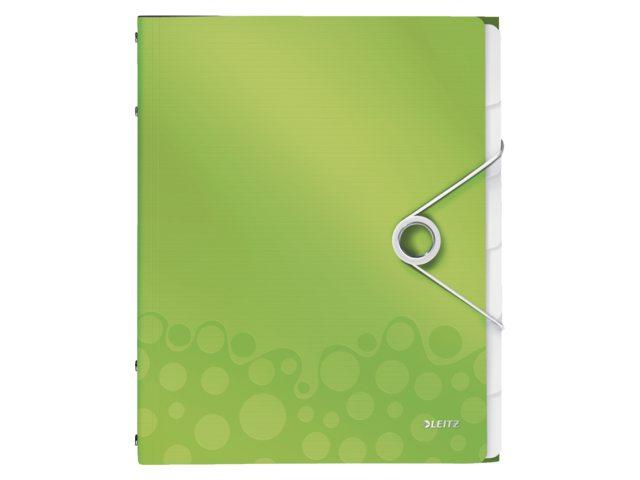 Sorteermap Leitz WOW PP 12-delig groen