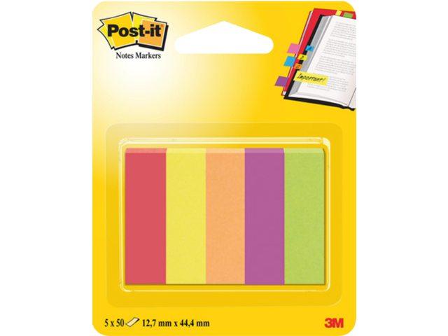 Indextabs 3M Post-it 670/5JA papier ultra 5 kleuren