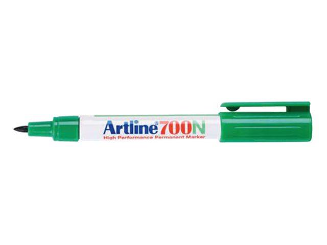 Viltstift Artline 700 rond groen 0.7mm