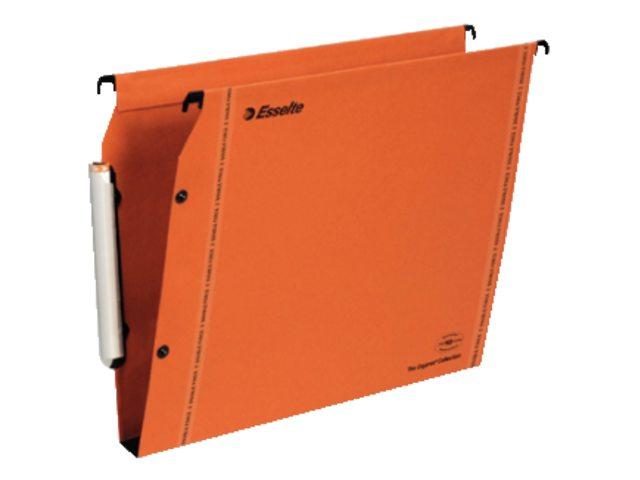 Hangmap Esselte Orgarex Visioplus lateraal 50mm oranje