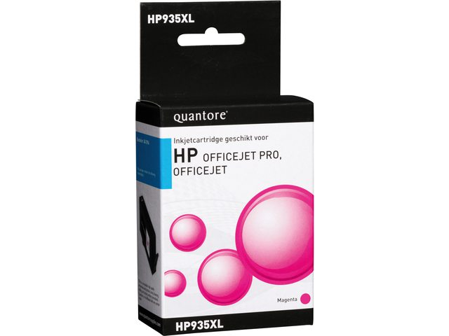 Inkcartridge Quantore HP 935XL C2P25AE rood