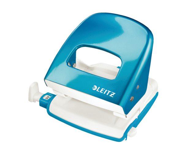 Perforator Leitz 5008 WOW 2-gaats 30vel blauw