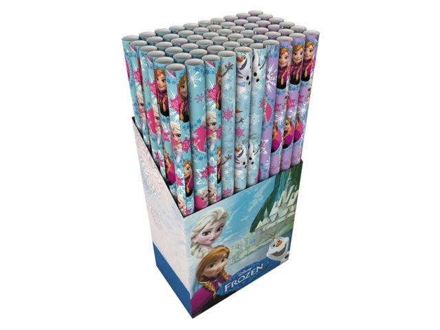 Inpakpapier Hoomark 200x70cm Frozen Olaf