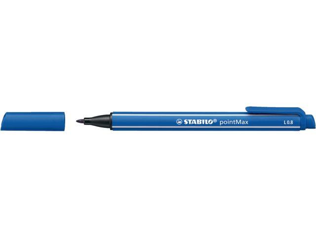 Viltstift Stabilo Point Max 488/32 ultramarijn