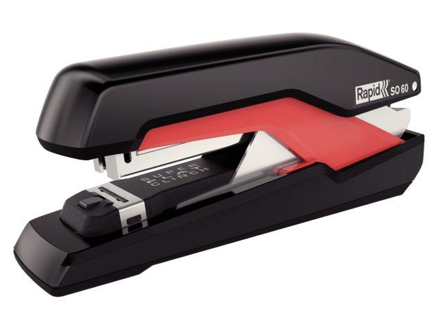 Nietmachine Rapid SO60 Fullstrip 60vel 24/8 zwart/rood