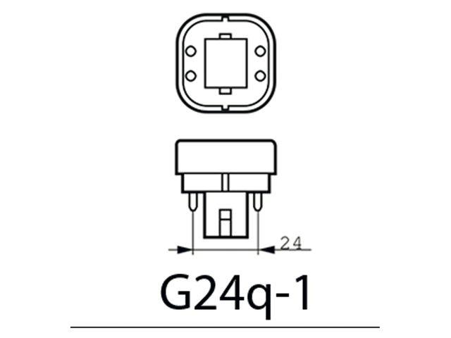 Ledlamp Philips CorePro PL-C 4P 26W 900 Lumen 840 koud wit