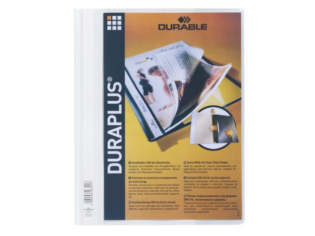 Snelhechter Durable Duraplus 2579 wit